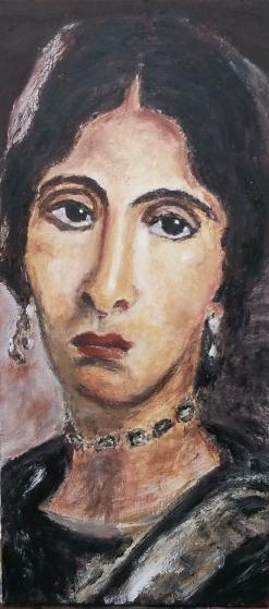 Portrait du Fayoum - Hawara - 1er siècle après JC - copie 2012