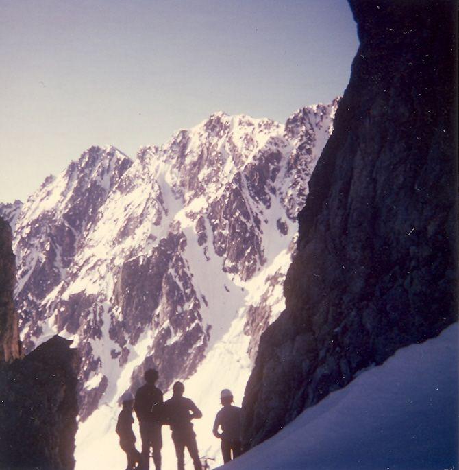Du côté de Neige Cordier (massif de l'Oisan)