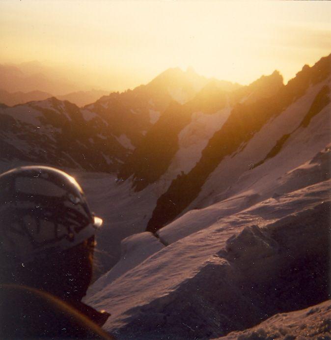 Montagne des Agneaux, vue du Dôme de Neige des Ecrins