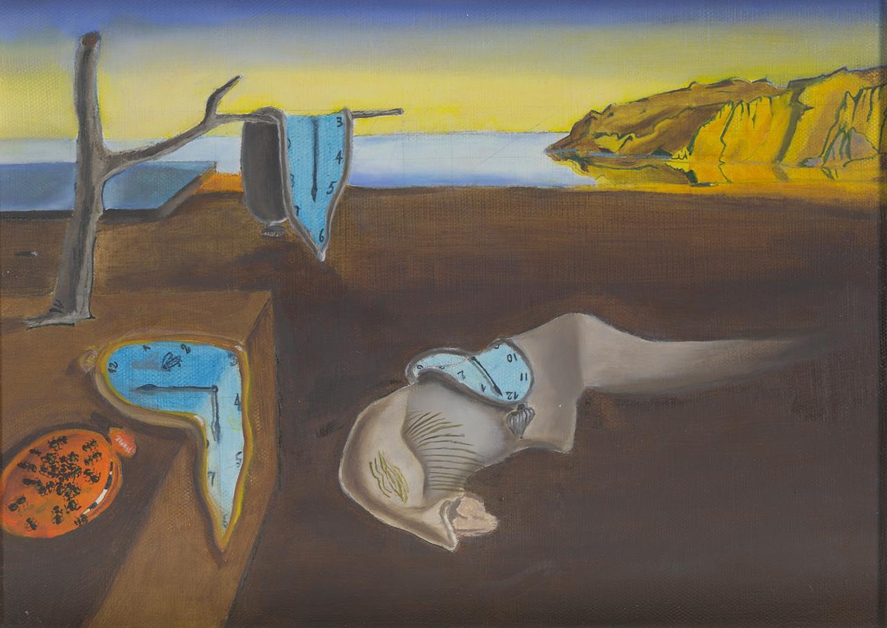 Dali - Persistance de la mémoire - copie 2008