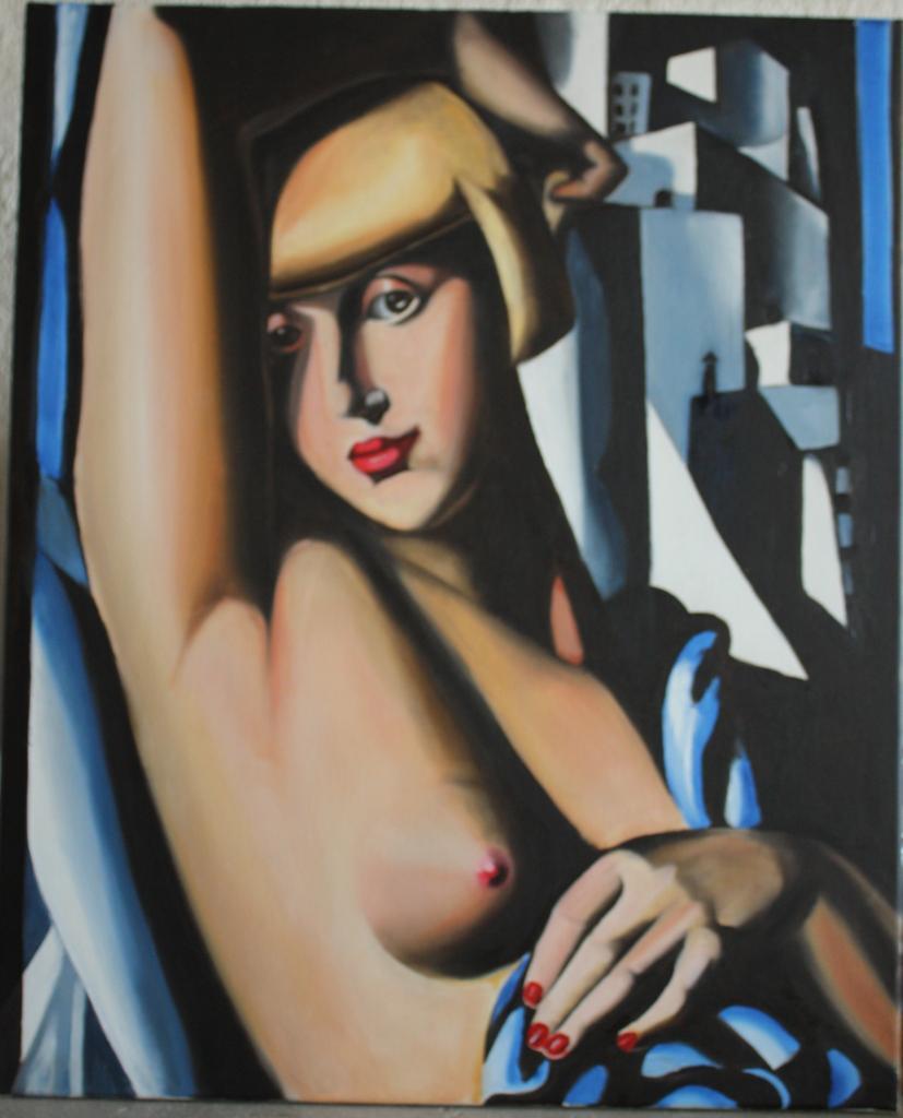 Tamara de Lempicka - Portrait de Suzy Solidor - 61x50 - copie 2012