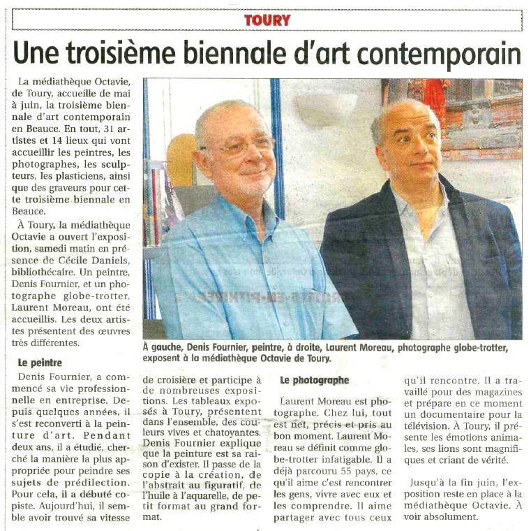Le Courrier du Loiret - 12 mai 2016