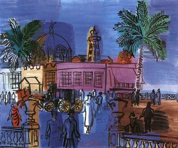 Dufy nice le casino de la jetee 1926