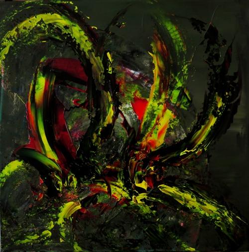 Sur fond vert 1